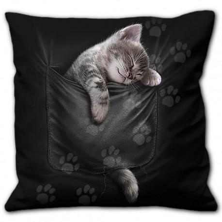 Cuscino  con gattino