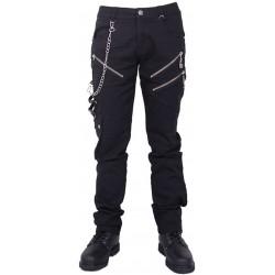 Pantaloni con cerniere
